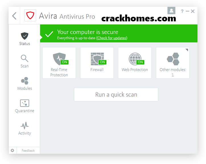 Avira Antivirus Pro Crack + Keygen Free Download