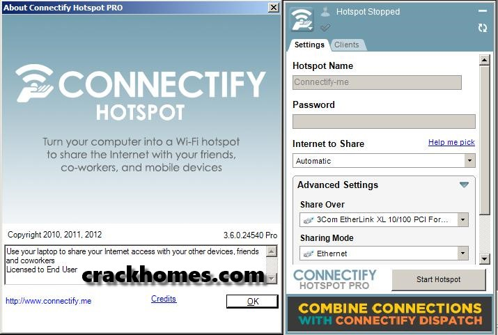 Connectify Hotspot Pro 2020 Crack + Serial Key Free Download