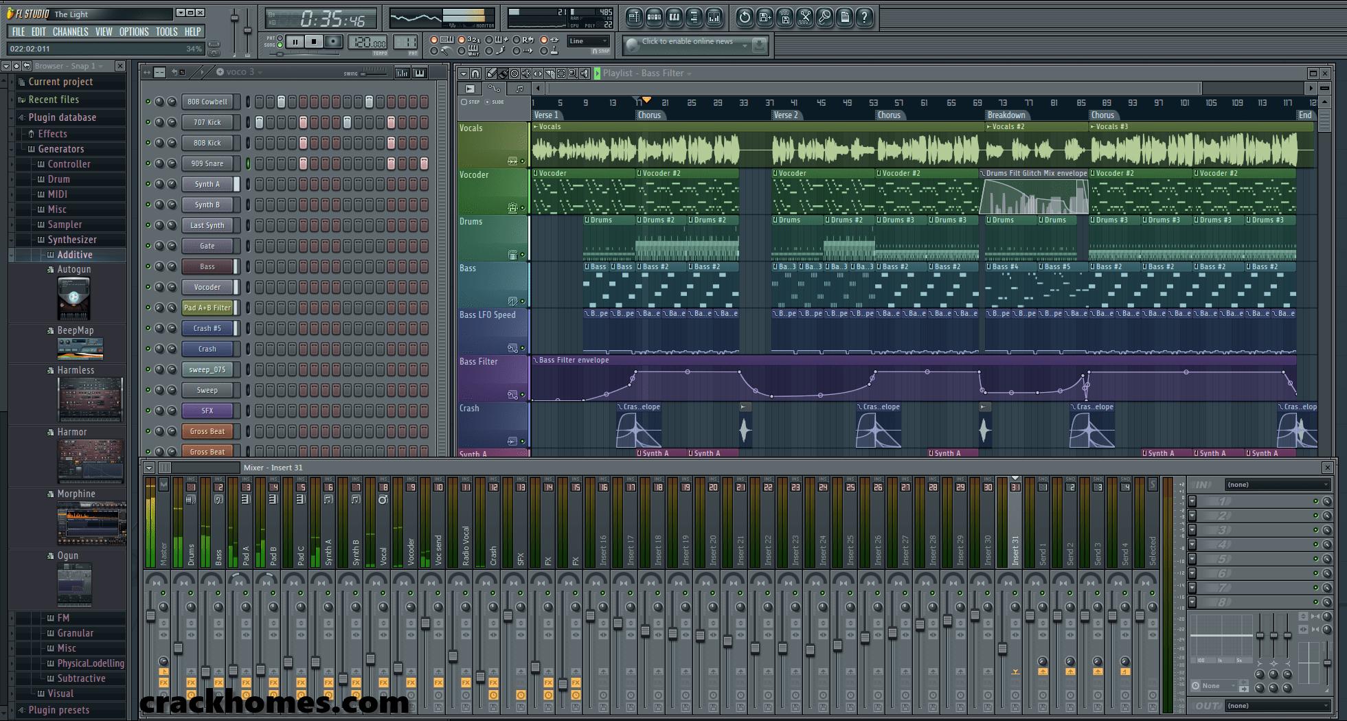 FL Studio 12 Crack with Serial Key Free Download
