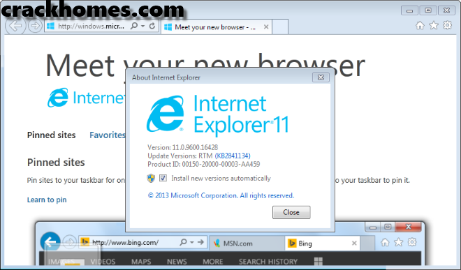 Internet Explorer 11 for Windows 7 Free Download (offline)
