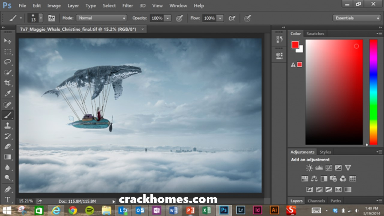 Adobe Photoshop CC 2018 Serial Key + Crack Full Version Free Downloadq2