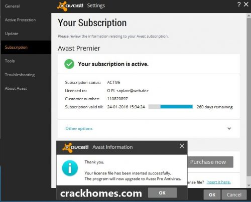 avast premier driver updater registration key