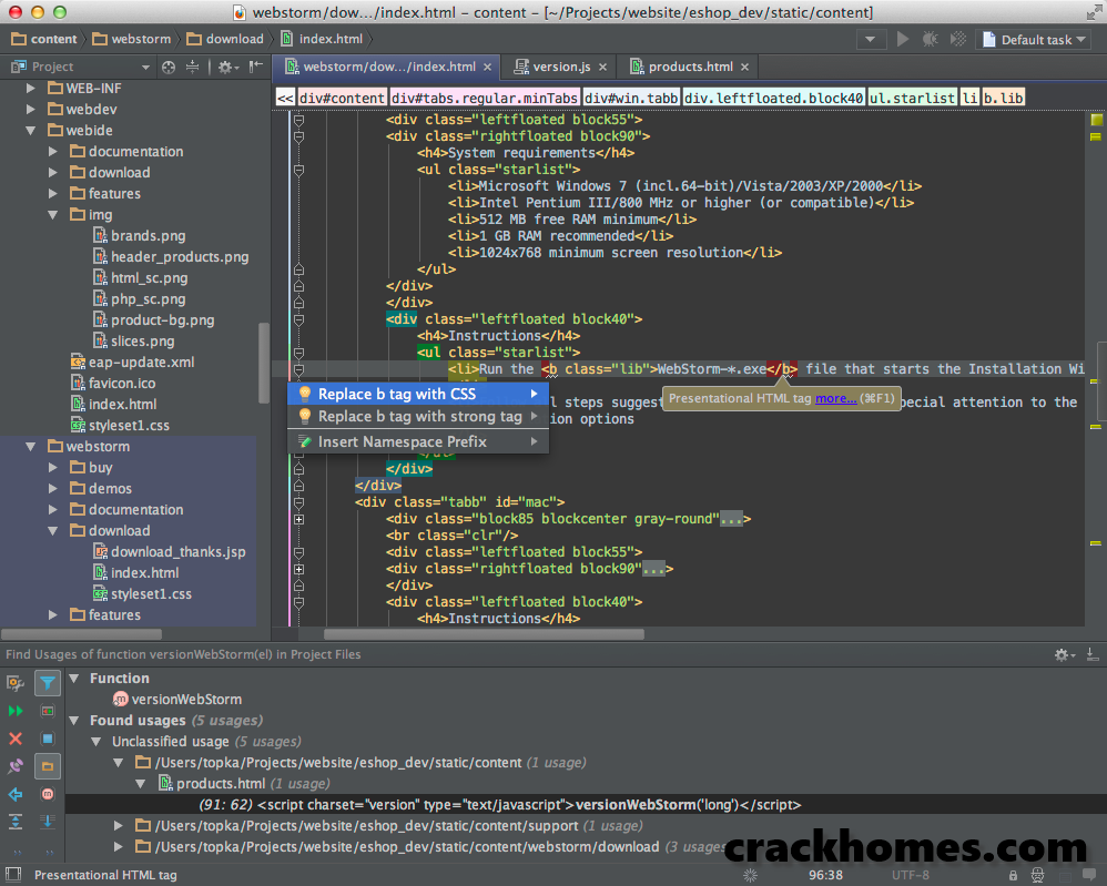 JetBrains PhpStorm 2019 2 1 Crack + License Key Download