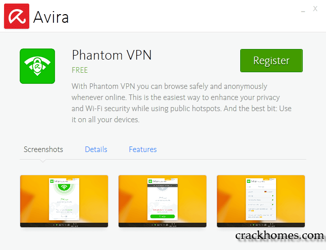 Avira Phantom VPN Pro 2.12.8 + Crack & Keys Full Version