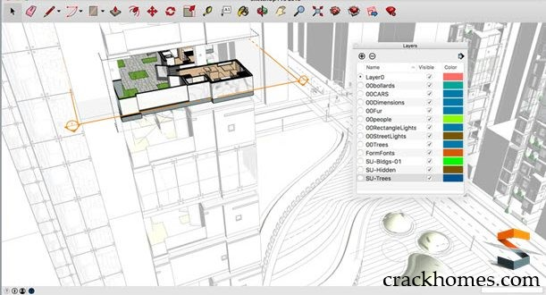 Google SketchUp Pro 2019 Crack Plus License Key Full Version