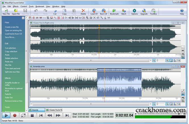 WavePad Sound Editor 8.38 Crack + Registration Code Full Version {Latest}