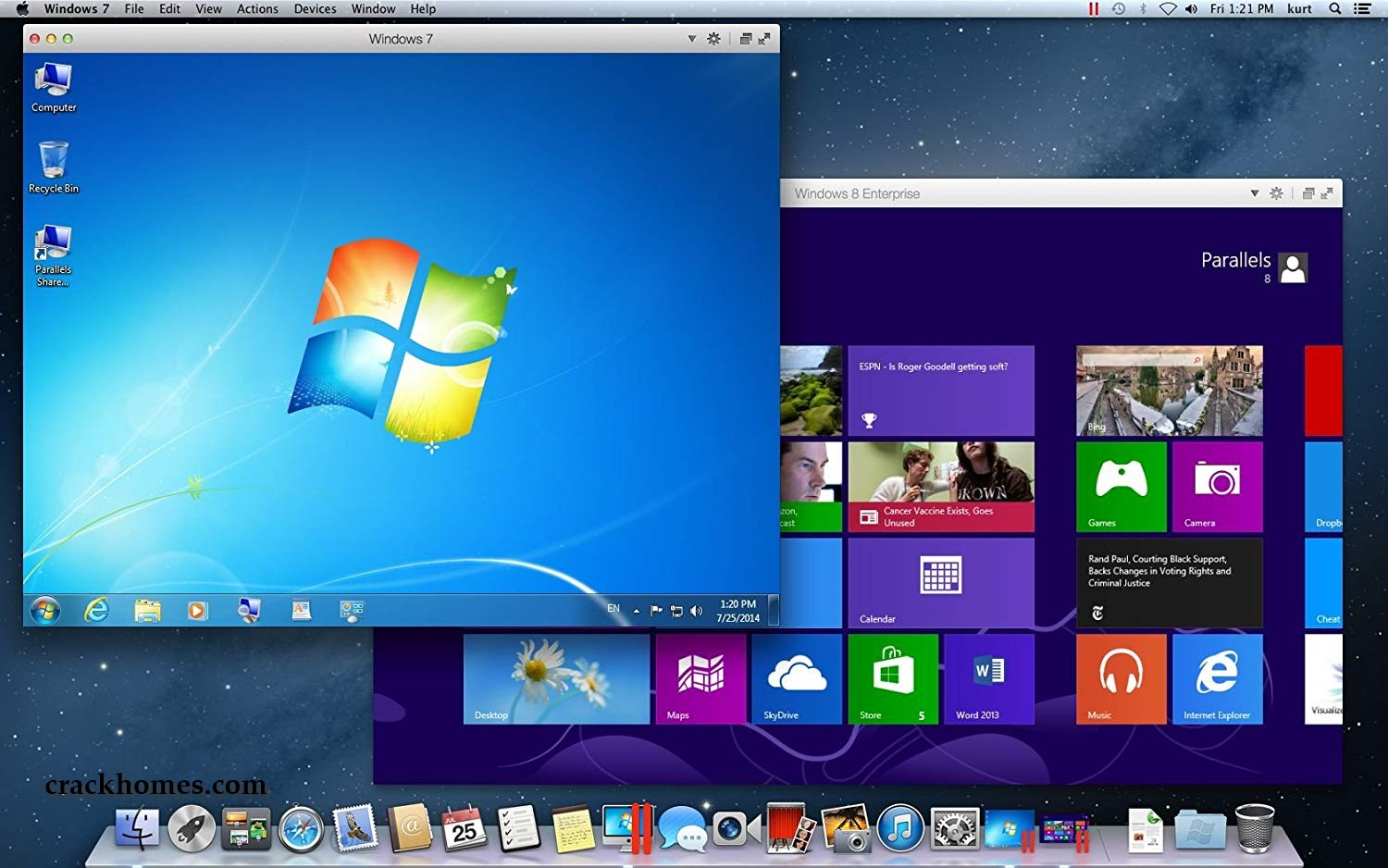 open windows keygen on mac