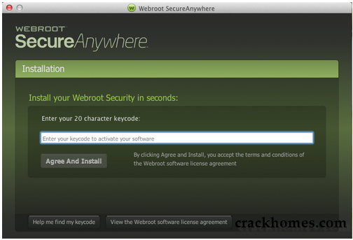 Webroot SecureAnywhere Antivirus 2019 Crack with Activation Key